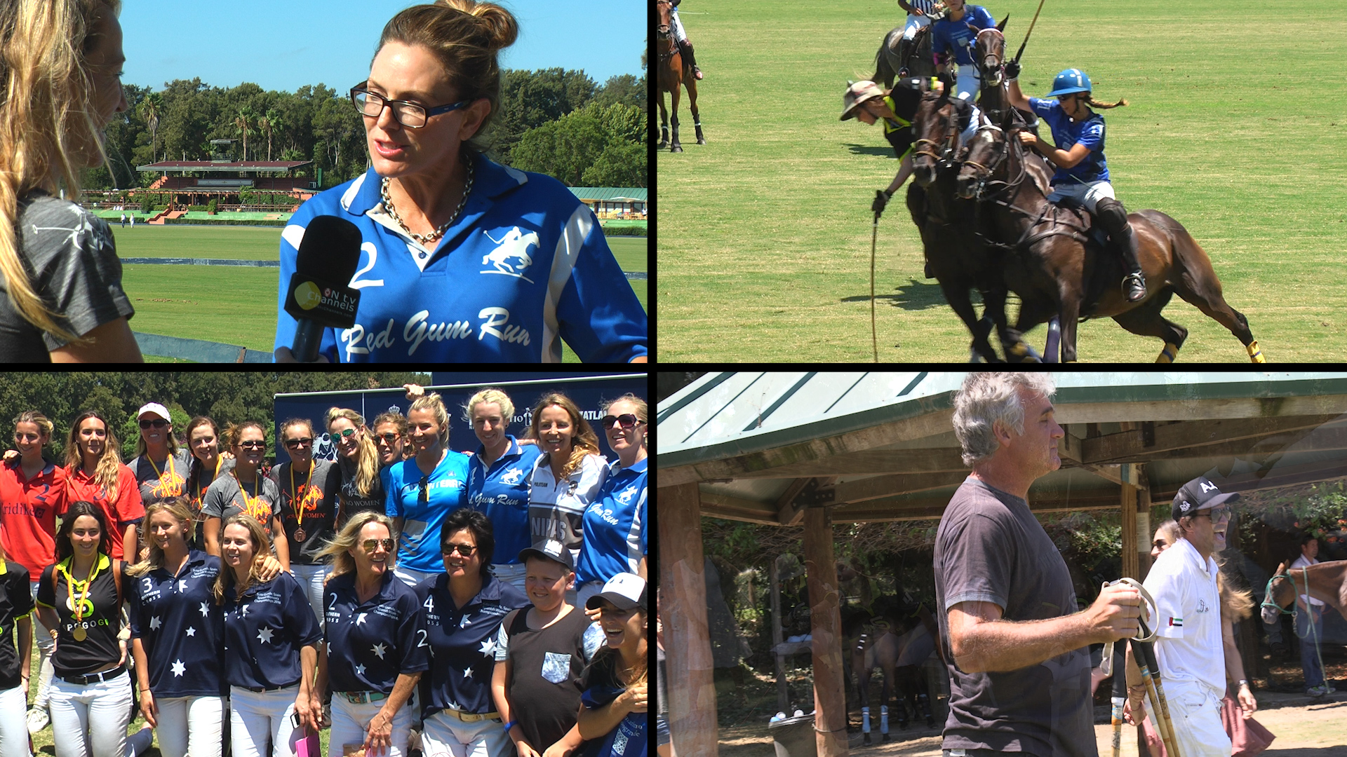 Aussie Teams at Women's Spanish Polo Championships